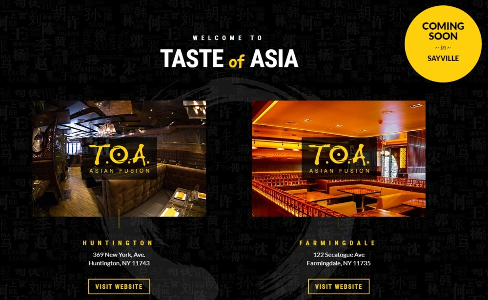 Choose Location – Taste of Asia Taste of Asia